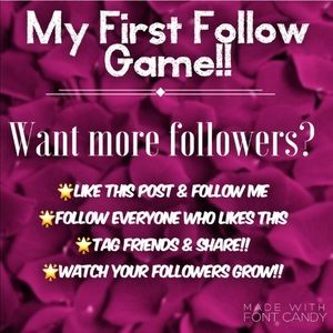 176k followers! 💜LIKE & SHARE💜🌟 FOLLOW GAME!!🌟